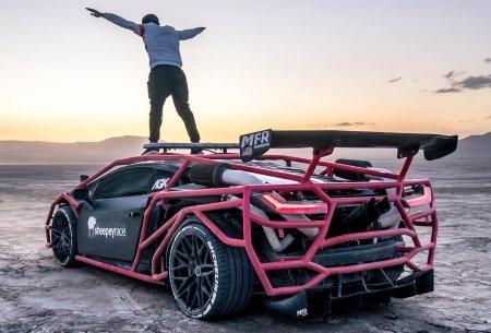 Что можно сотворить из шедевральных Lamborghini. Unicorn V3