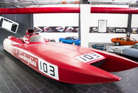 Небольшой музей великой истории Lamborghini