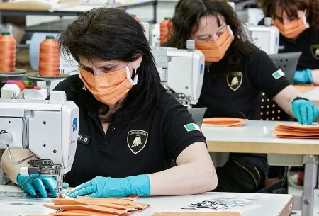 Lamborghini помогает в борьбе с коронавирусом