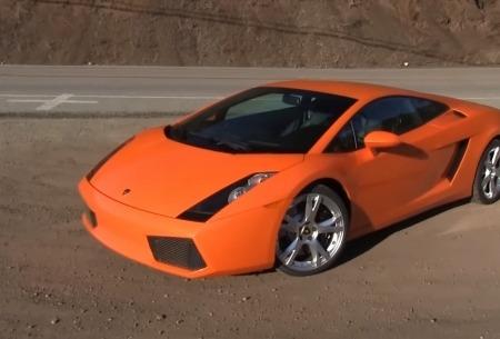 Первый Lamborghini Gallardo Джеймса Кондона