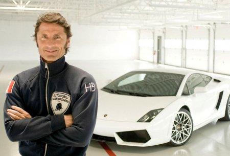 Stephan Winkelmann (Стефан Винкельманн) и Lamborghini Gallardo LP560-4