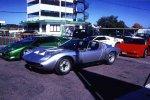 Серебристый Miura P400 SVJ Spider 1981 года