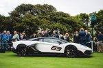 2018 Aventador SVJ 63 Edition. Презентация на Monterey Car Week 2018 - локация Concept Lawn.
