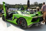 2018 Aventador SVJ. Презентация на Monterey Car Week 2018.