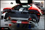 Lamborghini Huracan  с выхлопной системой FI