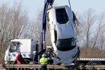 Lamborghini Huracan окунулось в озеро глубиной 6 метров
