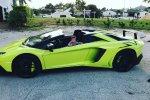 Дочь Gino Gargiulo в роскошном Lamborghini Aventador LP720-4 Roadster