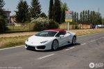 Lamborghini Huracan LP580-2 Spyder Prototipo, проходит дорожные испытания