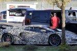 Lamborghini Aventador SVJ на тестах