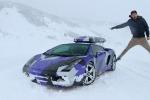Lamborghini Gallardo Джеймса Кондона в камуфляжной плёнке