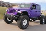 Jeep Wrangler Джеймса Кондона с шестью колёсами