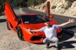 Первый Lamborghini Aventador Джеймса Кондона