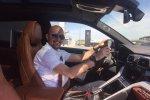 Giorgio Sanna (Джорджио Санна)  за рулем Lamborghini Urus