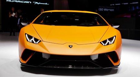 Lamborghini Huracan Performante на Женевском автосалоне
