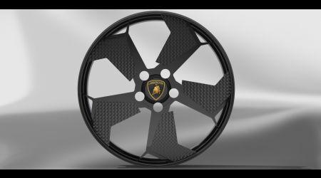 Колесный диск Lamborghini Reventon в SolidWorks