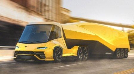 Грузовик Lamborghini. Ламборгини трак