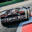 2018 Aventador SVJ Prototipo. После рекорда, на победной фотосессии, на трассе Vallelunga.